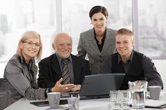 Businessteam op het werk Royalty-vrije Stock Afbeelding