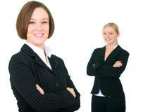 businessteam smiling successful στοκ φωτογραφία