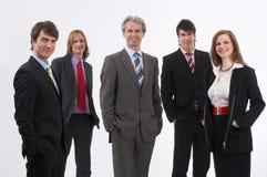 Businessteam sonriente imágenes de archivo libres de regalías