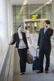 Businessteam travelling Stock Photography