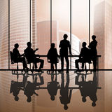 Businessteam at work Stock Photography