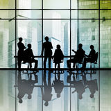 Businessteam at work Stock Photo