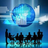 Businessteam at work Royalty Free Stock Photos