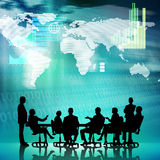 Businessteam at work Royalty Free Stock Photo