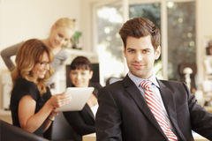 Businessteam Working Stock Images