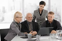 Businessteam working together Stock Photography