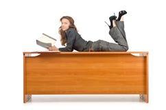 Businesswoma occupato Fotografia Stock Libera da Diritti