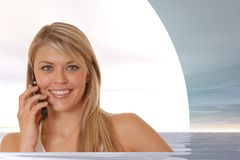 Businesswoman 1 Royalty Free Stock Images