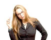 Businesswoman 1. Businesswoman portrait Stock Photos