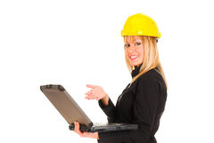 A businesswoman Royalty Free Stock Image