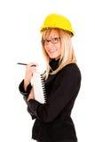 A businesswoman Royalty Free Stock Photos