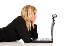 A businesswoman stock image