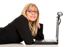 A businesswoman Royalty Free Stock Images
