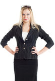 The businesswoman Royalty Free Stock Photo