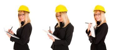 A businesswoman Royalty Free Stock Photo