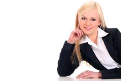 businesswoman Fotografia Stock