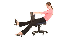 Businesswoman #417 Royalty Free Stock Photo