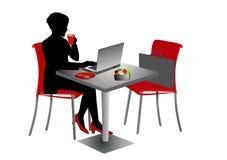 businesswoman ilustracja wektor