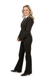 Businesswoman. On isolated white background Royalty Free Stock Image