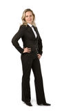 Businesswoman. On isolated white background Stock Photo
