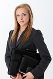 Businesswoman with accessories Stock Photo