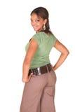 businesswoman afrykańska sexy zdjęcie stock
