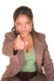 businesswoman afrykańska Fotografia Royalty Free