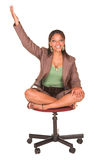 businesswoman afrykańska Zdjęcia Royalty Free