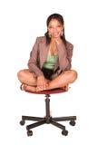businesswoman afrykańskiej Obrazy Stock