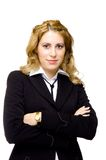 Businesswoman with arms crossed Royalty Free Stock Photography