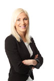 Businesswoman with arms crossed Royalty Free Stock Image