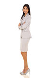 Businesswoman arms folded Stock Photo