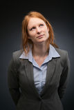 Businesswoman - Assistant or Secretary Stock Photography