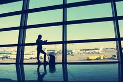 Free Businesswoman At The Airport Stock Photography - 101163912