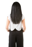 Businesswoman From the Back Royalty Free Stock Photography