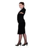 Businesswoman balancing Stock Photos