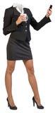Businesswoman body Royalty Free Stock Photo