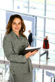 Businesswoman in building Stock Photography