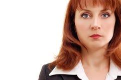 Businesswoman calling cellphone Stock Image