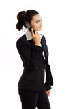 Businesswoman calling on phone Royalty Free Stock Photography