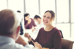 Businesswoman Cheerful Smiling Beautiful Smart Concept. Businesswoman Cheerful Smiling Beautiful Smart stock image