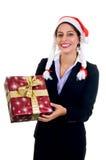 Businesswoman Christmas Royalty Free Stock Photo