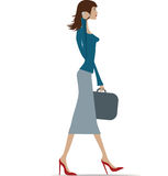 Businesswoman in city Royalty Free Stock Photo