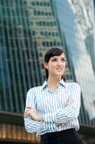 Businesswoman in the City Stock Image