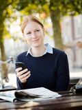 Businesswoman in a City Stock Images