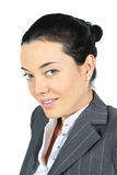 Businesswoman. Close up portrait Royalty Free Stock Photography