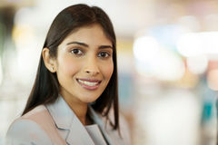 Businesswoman close up Royalty Free Stock Image