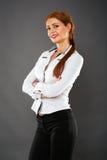 Businesswoman closeup Royalty Free Stock Photo