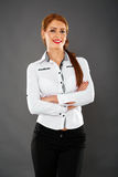 Businesswoman closeup Royalty Free Stock Photos