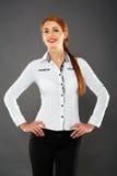 Businesswoman closeup Stock Photography